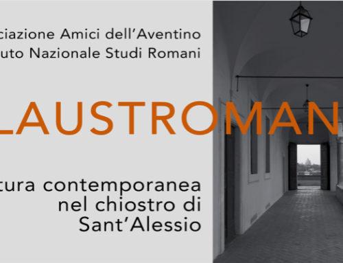 MERCOLEDÌ 16 OTTOBRE 2019, MOSTRA DI SCULTURA CONTEMPORANEA PRESSO L'ISTITUTO NAZIONALE DI STUDI ROMANI