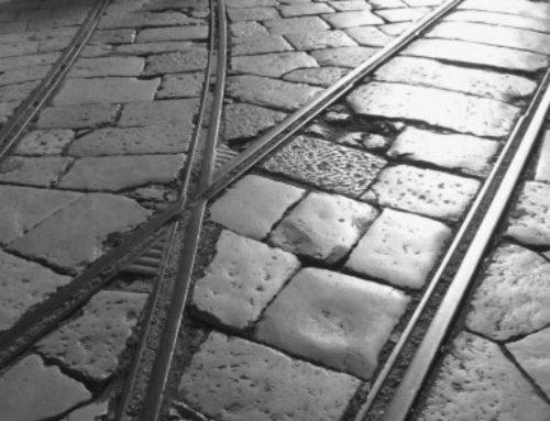 Un tram sull'Aventino